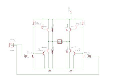 brueckenschaltung mikrocontrollernet
