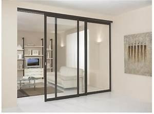 Fabriquer Sa Porte Coulissante Sur Mesure : prix porte coulissante placard cool porte entree alu prix ~ Premium-room.com Idées de Décoration
