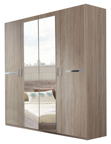 modeles armoires chambres coucher armoire 4 portes chambre à coucher imitation chene