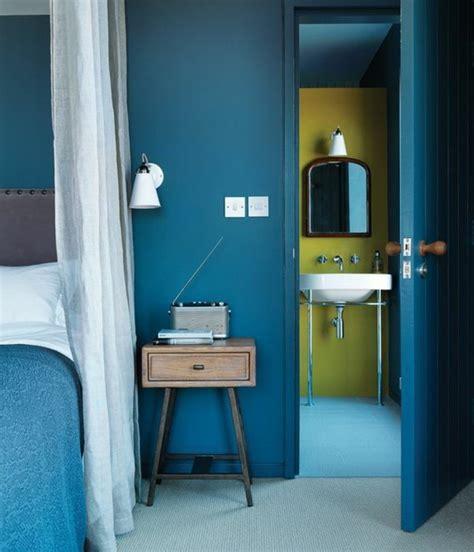 Tuerkise Vorhaenge Frische Farbe Im Raumturquoise Bedroom Decorating Ideas 7 by Die Wundersch 246 Ne Und Effektvolle Wandfarbe Petrol
