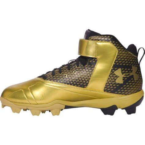 cheap gold  armour cleats buy   discounted