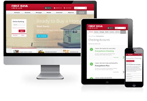 Creating First Bank's Bestinclass Website  Rivers Agency