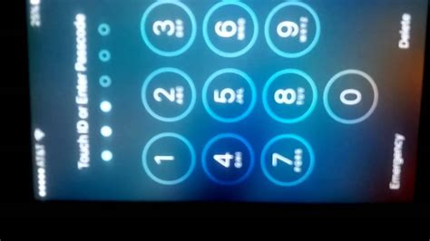 how to unlock iphone 6 passcode bypass passcode to unlock iphone 6 and higher
