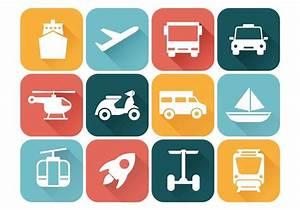 Transportation Icons Vector - Download Free Vector Art ...