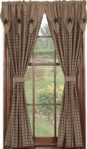 Primitive Country Living Room Curtains Ideas