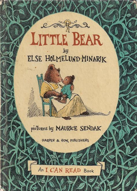 A Year In Booksday 129 Little Bear*  A Small Press Life