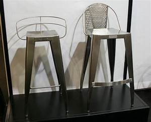 Tabouret De Bar Inox : tabouret de bar et repose pied inox chaise design ~ Teatrodelosmanantiales.com Idées de Décoration