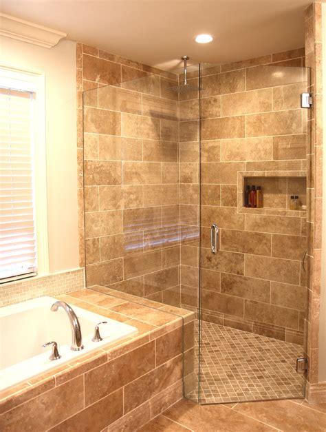 travertine bathroom ideas light walnut travertine on the walls from the tile shop
