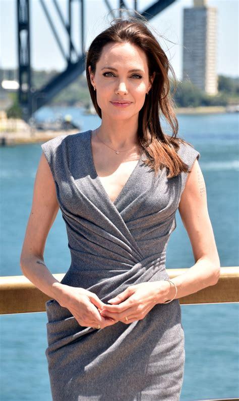 ANGELINA JOLIE at Unbroken Photocall at Sydney Opera House ...