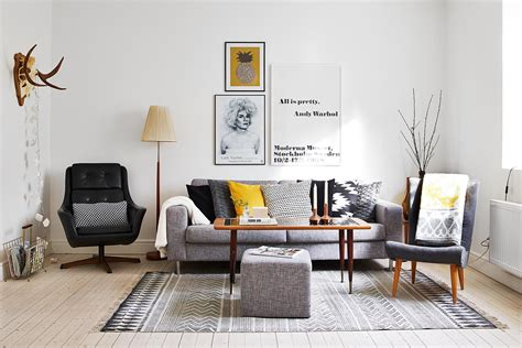 Scandinavian Design Living Room Designed With A Touch