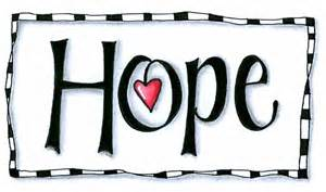 The Word Hope with Pictures