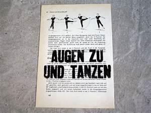 Augen Zu Und Tanzen : linoldruck ~ Watch28wear.com Haus und Dekorationen