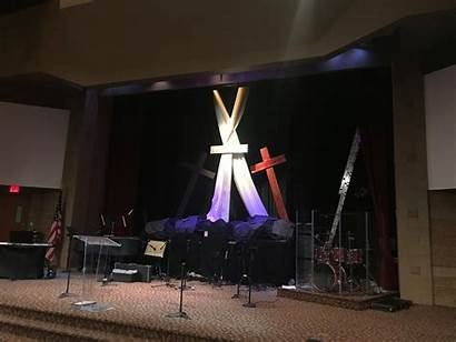 Stage Church Easter Simple Bethel Exposed