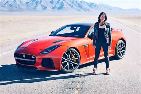 Jaguar F Type Sound by Jaguar F Type Svr Sound Und Speed Check Bilder