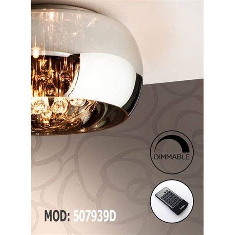schuller argos cm ceiling lamp chrome