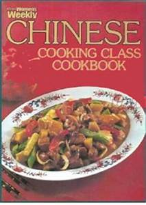 AWW Chinese Cooking Class Cookbook Australian Womens