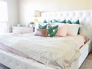 how to arrange pillows on a king size bed lacey placey With cheap king size bed pillows
