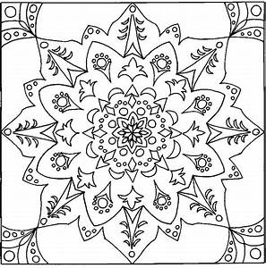hard coloring pages - 12 typical coloring pages for adults mandala