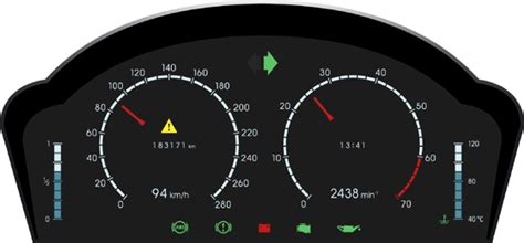 Digital Dashboards For Cars by Automotive Digital Lcd Dashboards Librow Digital Lcd