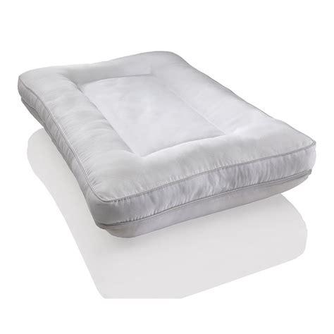 comfort revolution pillow comfort revolution 174 2 in 1 reversible memory foam and