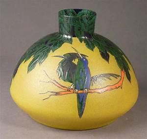 Vase En Verre Haut : leune vase en verre souffl moul granit corps pansu et haut col droit ~ Nature-et-papiers.com Idées de Décoration