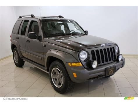 jeep renegade dark blue 2005 dark khaki pearl jeep liberty renegade 4x4 31426478