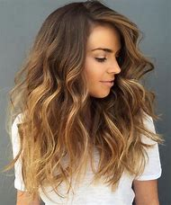 Honey Brown Hair with Blonde Balayage