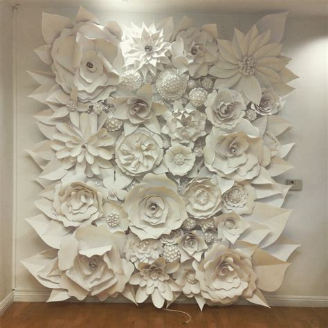 wall photo gallery template 3d paper flower wall collection and sculptures