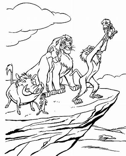 Lion King Coloring Pages Lk
