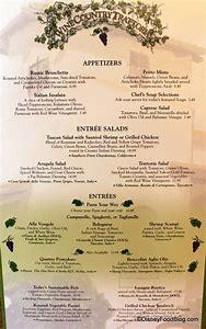 olive garden wine list menu - Olive Garden Wine List