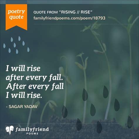 rise rise poem  life struggles