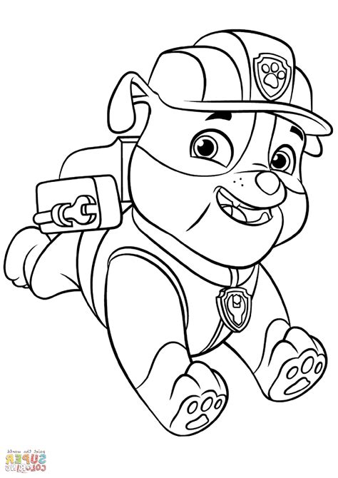 Paw Patrol Coloring Pages Downoadable K5 Worksheets