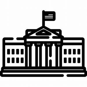 White house - Free monuments icons