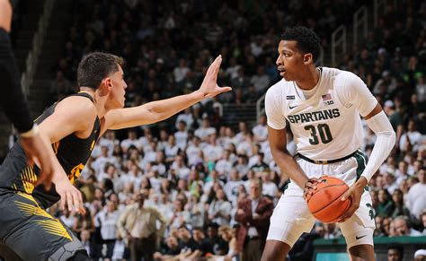 michigan state basketball takeaways  spartans home