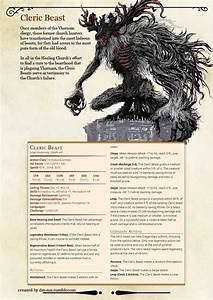 Bloodborne Monster Manual By Dm Tuz