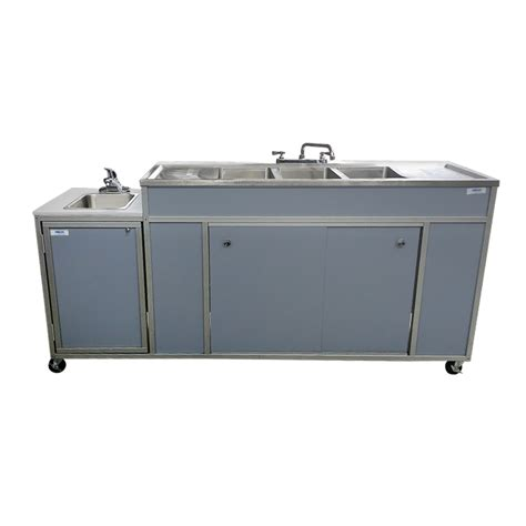 Mobile Self Contained Portable Electric Sink by Portable Sink For College Science Lab