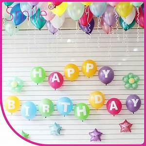 number balloon letter balloon 12 inch latex party balloon With 12 inch letter balloons