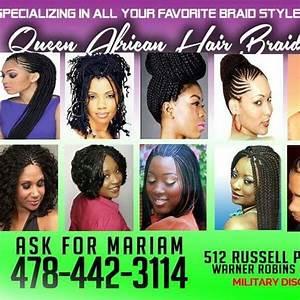 Queen African Hair Braiding Warner Robins Georgia