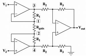 Instrumentationamplifier Circuit Is A Type Of  Differentialamplifier That Has Been Outfitted