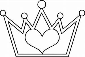 Princess Crown Coloring Page  U2013 Through The Thousands Of