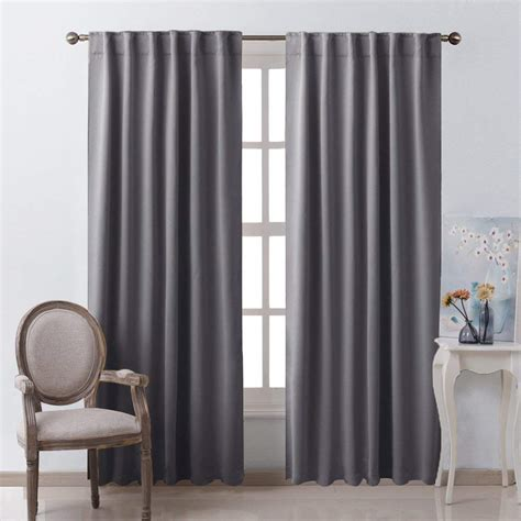 room drapes nicetown solid color blackout curtain thermal insulated