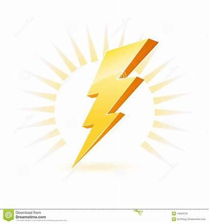 Powerful Symbol Lighting Clipart Royalty Bolt Illustration