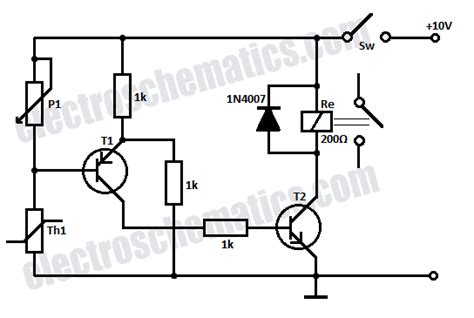 Temperature Relay Circuit