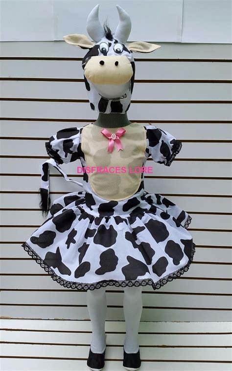 como hacer una vaca de disfraz de vaca tutu mallas vaquita disfraces vaca ni 241 as