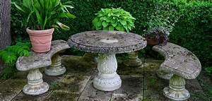 Salon De Jardin En Pierre : comment nettoyer son salon de jardin en pierre ~ Teatrodelosmanantiales.com Idées de Décoration