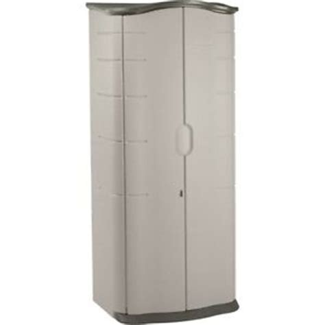 new rubbermaid 3749 vertical storage shed 17 cubic ft