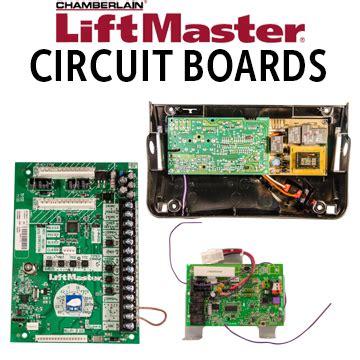 liftmaster circuitlogic boards  garage door openers