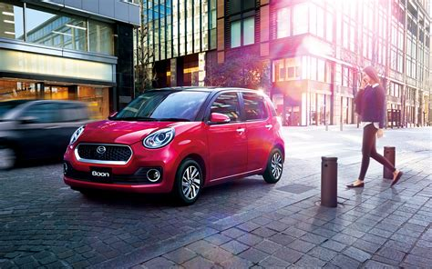 Wallpaper 2016 Daihatsu Boon Cilq Red Street Cars 3840x2400