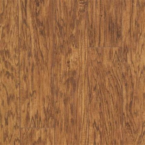 Hickory Laminate Flooring Home Depot by Hton Bay Mill Hickory Laminate Flooring 5 In X 7