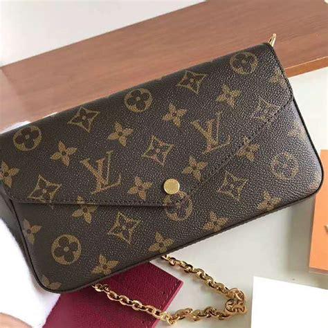 louis vuitton lv women felicie pochette bag  monogram canvas brown lulux